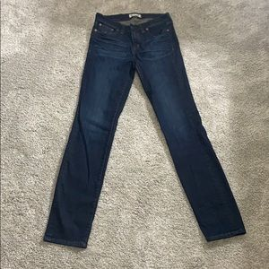Madewell jeans Alley Straight jeans dark wash